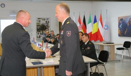 Colonel Robert Klinar - New Chairman of the NATO MW COE Steering Committee
