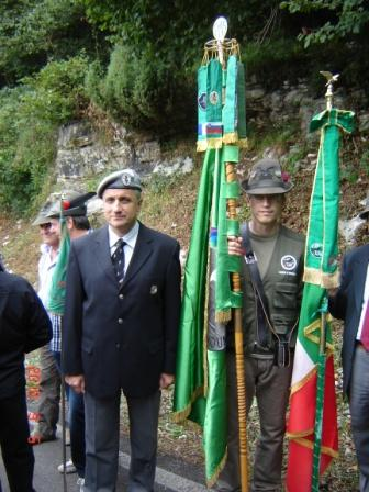 Brigadier Pograjc Attends the Monte Tomba Ceremony in the Republic of Italy 2010